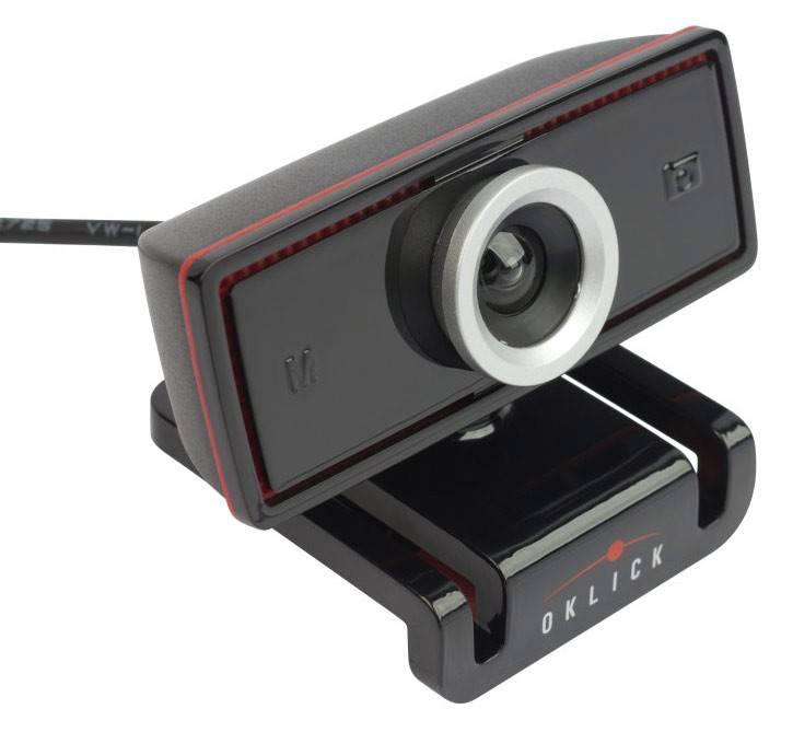 Веб-камера Oklick LC-130M черный - фото 2