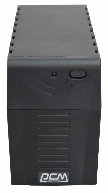 ИБП Powercom RPT-600A 360Вт черный - фото 1