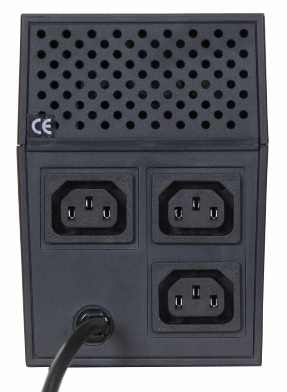 ИБП Powercom RPT-600A 360Вт черный - фото 2