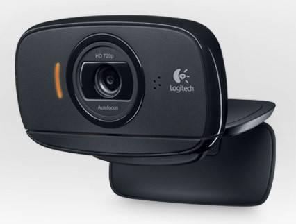Камера Web Logitech HD Webcam C525 черный (960-001064) - фото 1