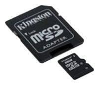 Карта памяти microSDHC 32Gb Class10 Kingston SDC10 / 32GB