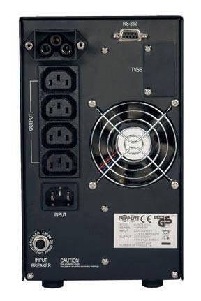 ИБП Tripplite SUINT1000XL 700Вт черный - фото 2