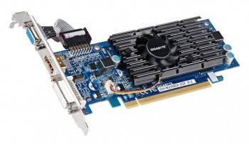 Видеокарта Gigabyte GeForce 210, GV-N210D3-1GI 1024 МБ