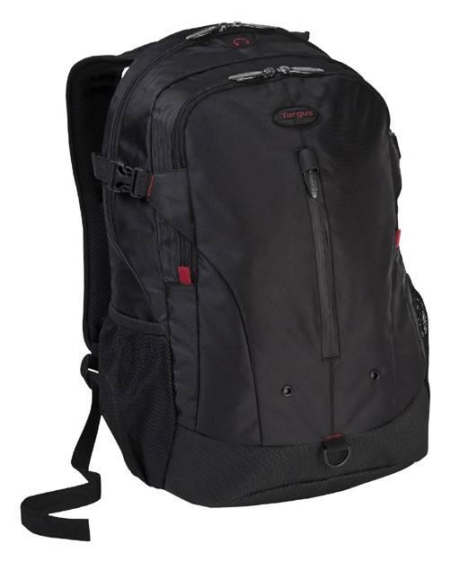 """Рюкзак для ноутбука 16"""" Targus TSB251EU черный/красный - фото 1"""