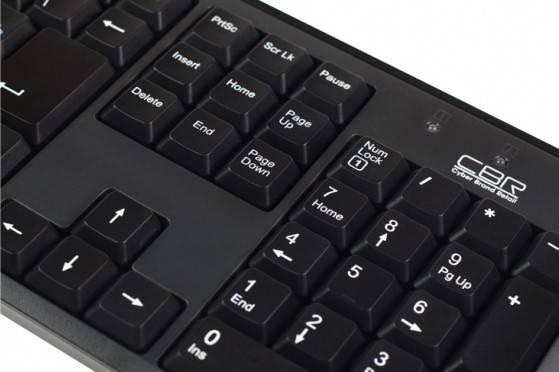 Клавиатура CBR KB-108 - фото 5