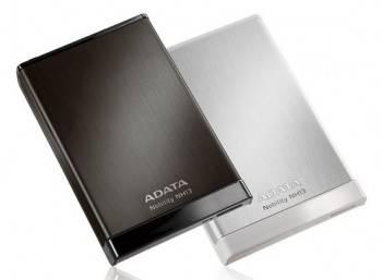 Внешний жесткий диск 1Tb A-Data NH13 Nobility серебристый USB 3.0