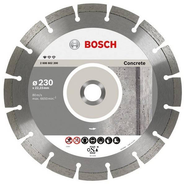 Алмазный диск по бетону Bosch Concrete Professional ECO BPE (2608602197) - фото 1