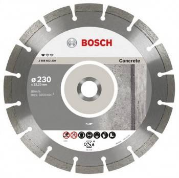 Алмазный диск по бетону Bosch Concrete Professional ECO BPE