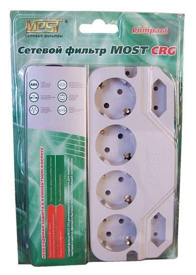 Сетевой фильтр Most СRG 5м белый - фото 2