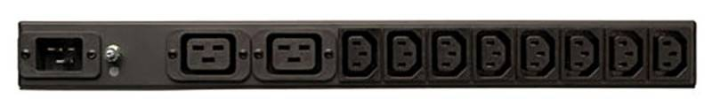 Модуль Tripplite PDUH20DV 20A 100-240V 1U C19/C13 out C20 inlet C20 line cord L6-20P - фото 2