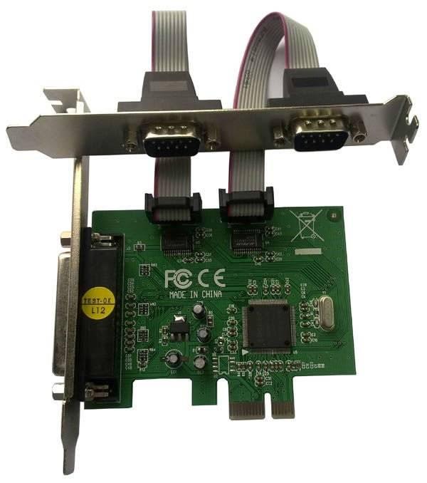Контроллер PCI-E MS9901, 1xLPT, 2xCOM, Bulk (COM/LPT 2+1PORT) - фото 1