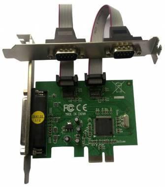 Контроллер PCI-E MS9901, 1xLPT, 2xCOM, Bulk (COM/LPT 2+1PORT)