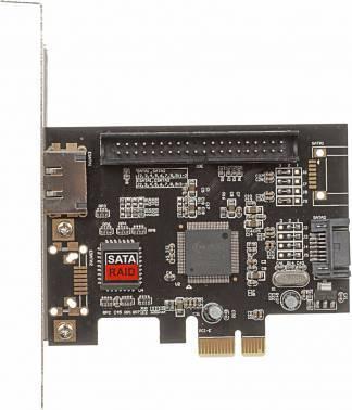Контроллер PCI-E JMB363 1xE-SATA 1xSATA 1xIDE