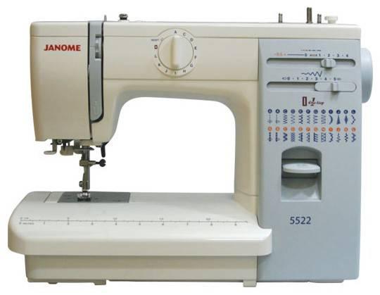 Швейная машина Janome 5522 белый - фото 1