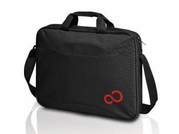"""Сумка для ноутбука 16"""" Fujitsu Casual Entry черный/красный (S26391-F1191-L107)"""