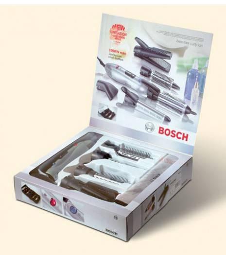 Фен-щетка Bosch PHA2661 серебристый - фото 3