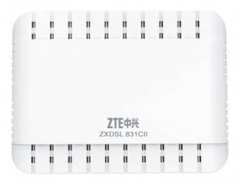 Модем xDSL ZTE ZXDSL 831CII RJ-45 белый