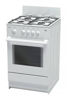 Плита газовая Darina S GM 441 001 W белый