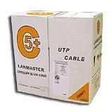 Кабель Lanmaster LAN-5EUTP-LSZH оранжевый 305м