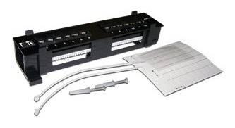 "Патч-панель Lanmaster TWT-PP12UTP-H 10"" 1U 12xRJ45"