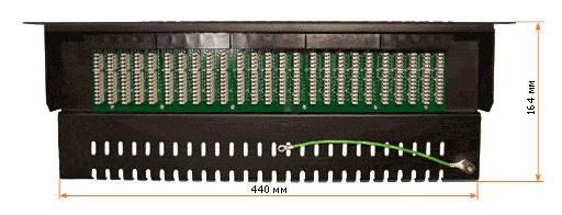 "Патч-панель Lanmaster TWT-PP50TEL45 19"" 1U 50xRJ45 - фото 3"