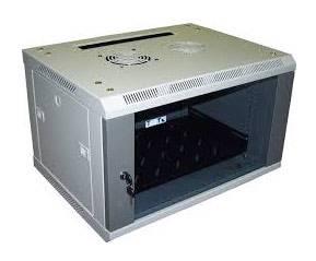 Шкаф настенный Lanmaster Pro TWT-CBW2-9U-6X4 9U серый