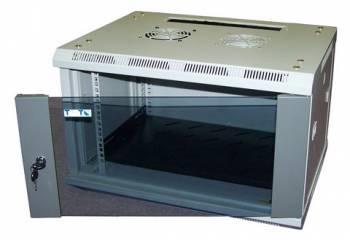 Шкаф коммутационный Lanmaster Lite TWT-CBWL-15U-6X4 15U серый