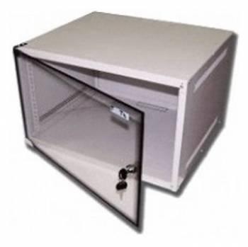 Шкаф настенный Lanmaster Lite TWT-CBWL-4U-6X4 4U серый