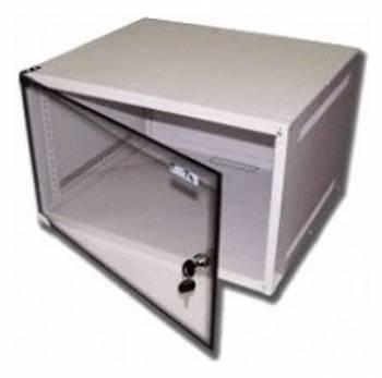 Шкаф настенный Lanmaster Lite TWT-CBWL-9U-6X4 9U серый