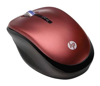 Мышь HP XB386AA красный - фото 2