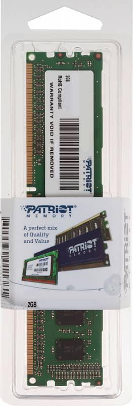 Модуль памяти DIMM DDR3 2Gb Patriot PSD32G16002 - фото 1