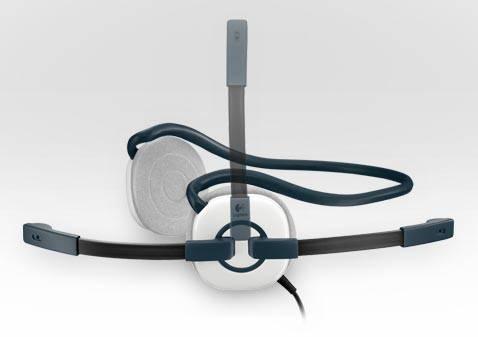 Наушники с микрофоном Logitech Stereo Headset H130 белый - фото 5
