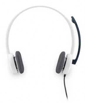 Наушники с микрофоном Logitech H150 белый (981-000350)