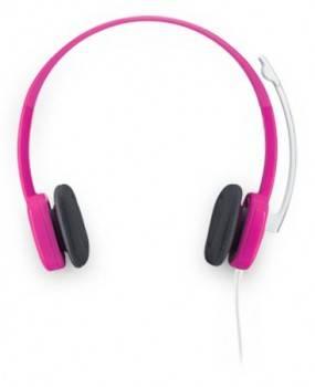 Наушники с микрофоном Logitech Stereo Headset H150 пурпурный (981-000369)