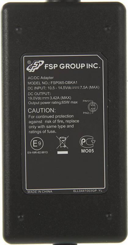 Блок питания FSP Car 65 черный - фото 2