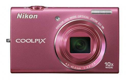 Фотоаппарат Nikon CoolPix S6200 розовый - фото 1