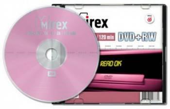Диск DVD+RW Mirex 4700 4x Slim Case 1 шт
