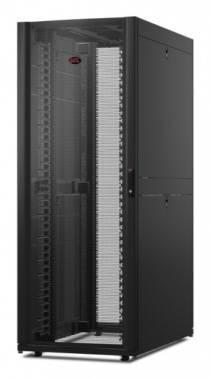Шкаф монтажный APC AR3340 двуствр. 1991мм 750мм 1200мм 2 бок.пан. черный