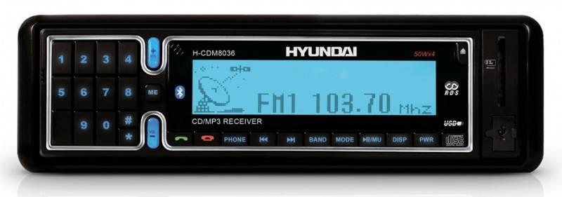 Автомагнитола Hyundai H-CDM8036 - фото 1