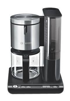 Кофеварка капельная Bosch TKA8633 черный - фото 1