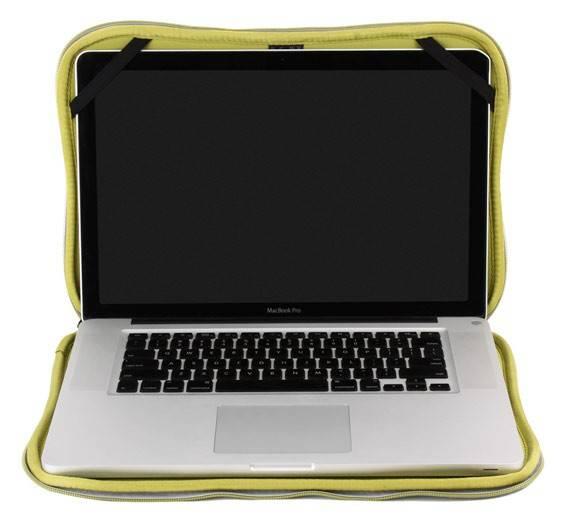 """Чехол для ноутбука 15.4"""" Crumpler The Gimp серебристый - фото 7"""