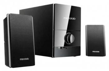 Акустическая система 2.1 Microlab M500U черный