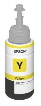 Картридж струйный Epson T6644 C13T66444A желтый