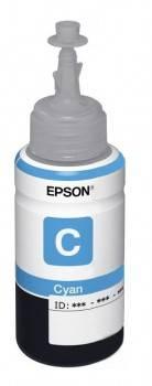 Картридж струйный Epson T6732 C13T67324A голубой