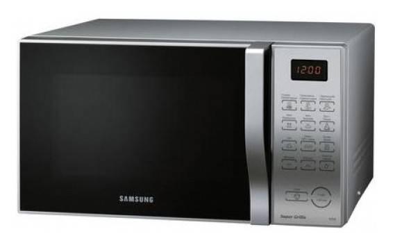 СВЧ-печь Samsung PG838RS серебристый - фото 1