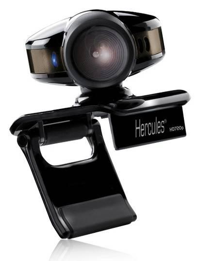 Камера Web Hercules HD Sunset черный - фото 1