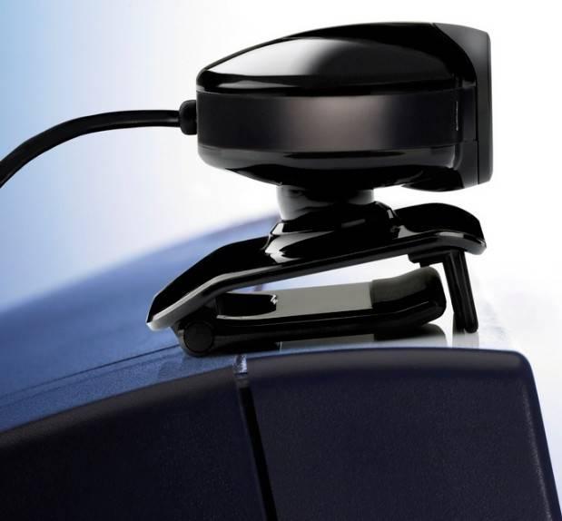 Камера Web Hercules HD Sunset черный - фото 2