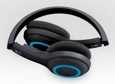 Наушники с микрофоном Logitech H600 черный - фото 1