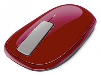 Мышь Microsoft Explorer Touch красный