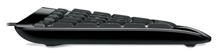 Клавиатура Microsoft Comfort Curve 3000 черный - фото 3
